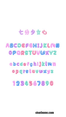 Star Deer Girl Font itz For Vivo
