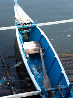 Philippine bangka boat - photo by Michael Williams
