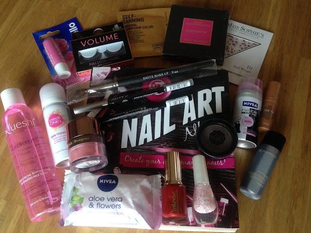 Gewinnspiel, Kosmetikbox