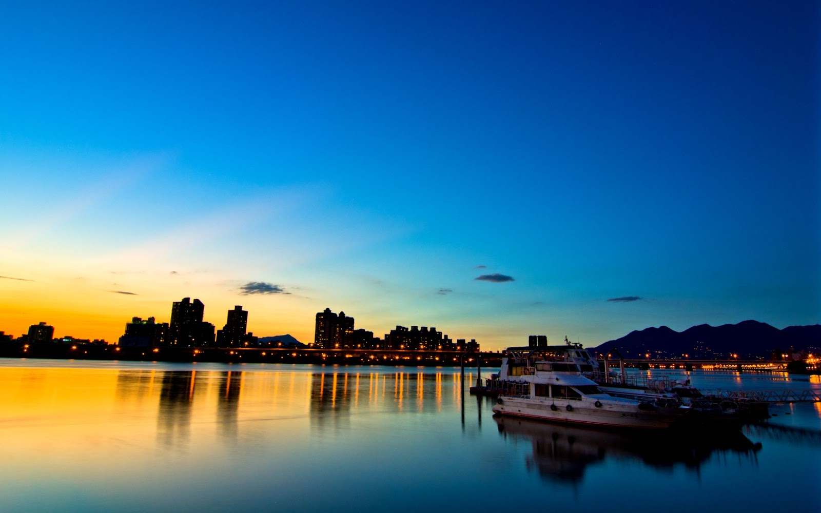 Travel Sunset In Taipei Hd Wallpaper Copy Wallpapers