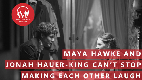 Maya Hawke And Jonah Hauer-King Can't Stop Making Each Other Laugh