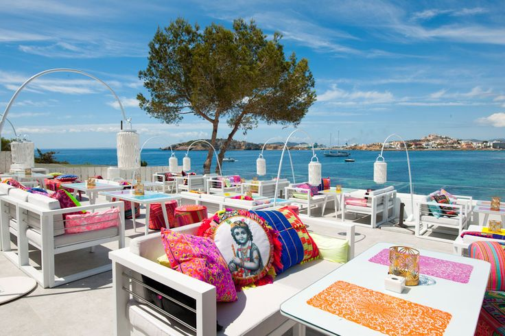 ibiza white terrace cafe restaurant