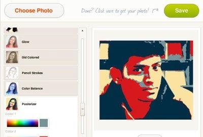 PicFull editor online com efeitos Instagram