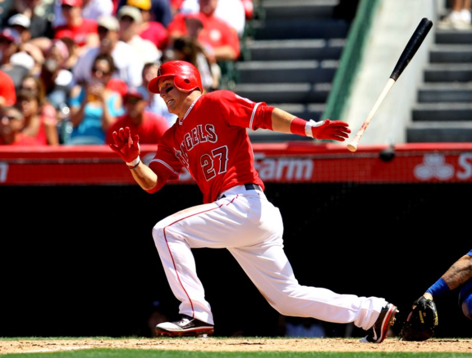 Mike Trout Hd Wallpaper Room Wallpapers