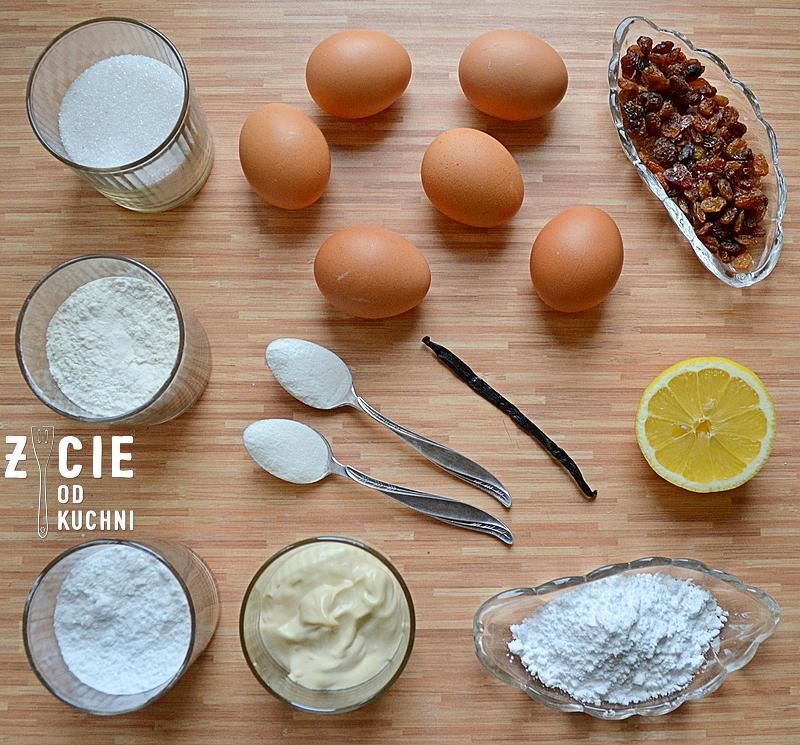 babka wielkanocna, babka, wielkanoc, przepisy z jajem,skladniki na babkę, przepisy wielkanocne, najlepsza babka, zycie od kuchni