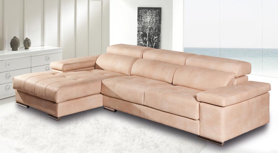 Sofás con chaise longue