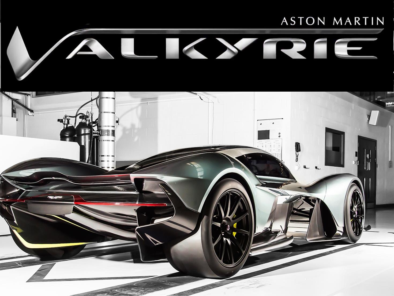 Aston Martin AM-RB 001 Hypercar Officially Named Valkyrie