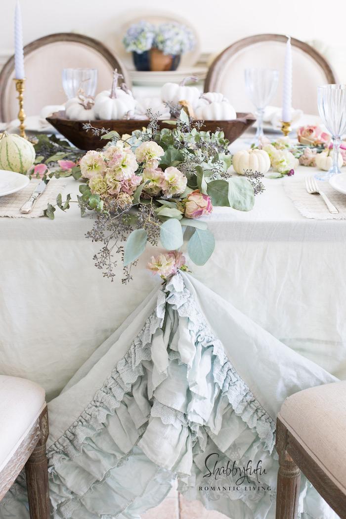 beautiful table settings weddings ruffles