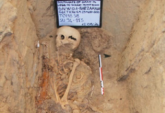 2,300 year old grave found in Oman