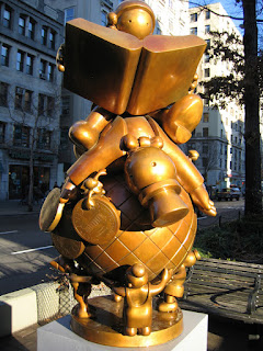 Educating the Rich on the Globe by Tom Otterness