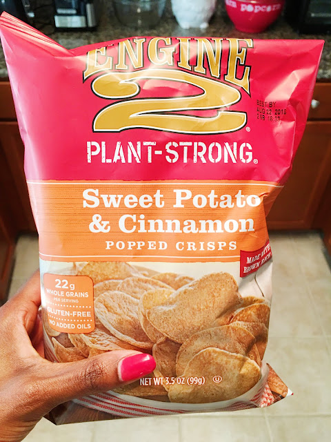 Engine 2 Plant Strong Sweet Potato & Cinnamon Popped Crisps