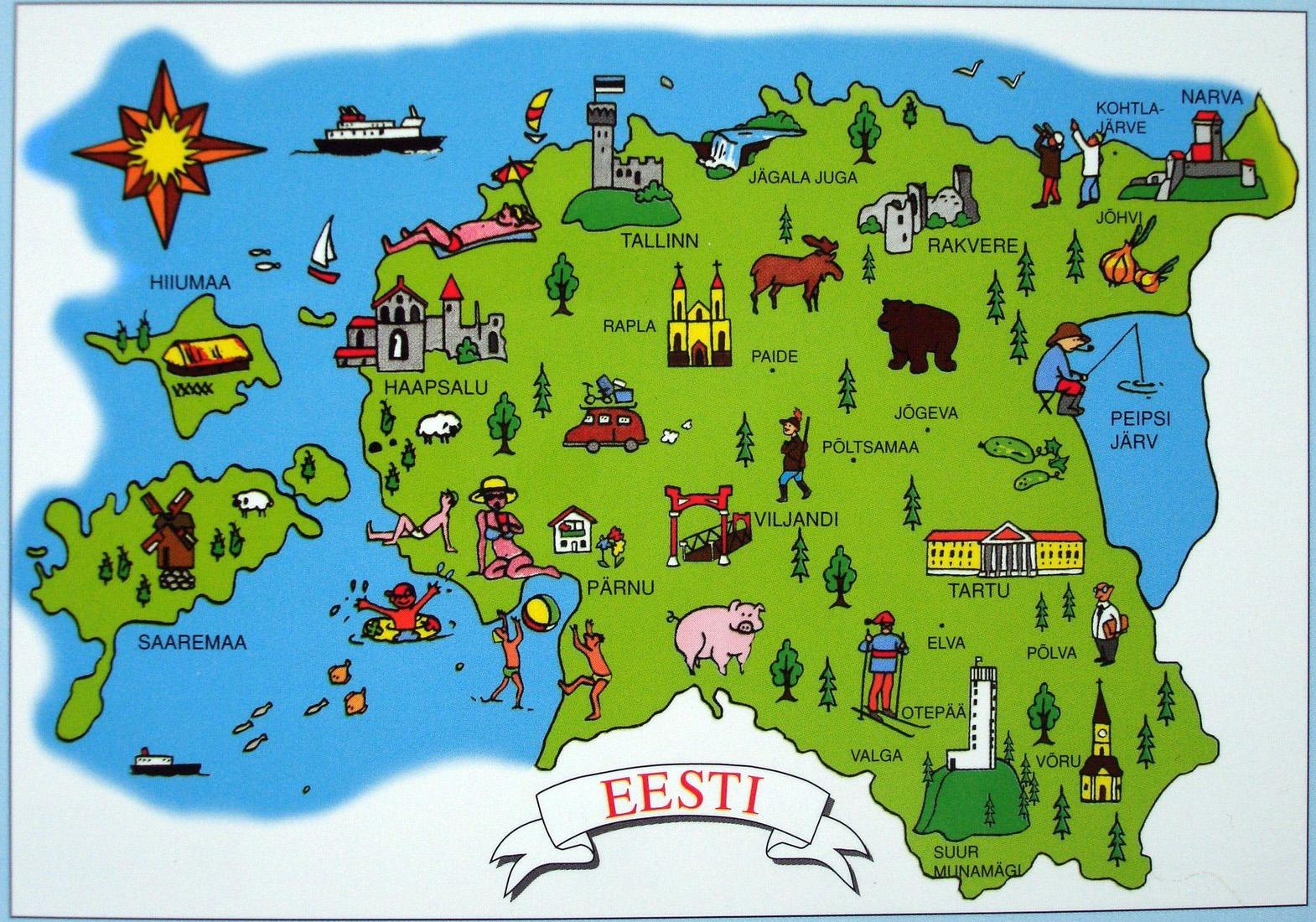 Estonia: Click to enlarge