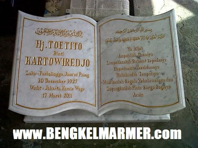 40 Model Batu Nisan Makam Kuburan Islam dan Kristen