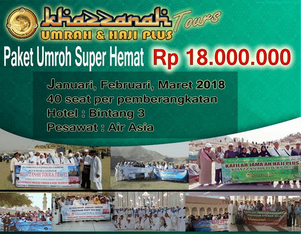 KHAZZANAH TOUR TRAVEL UMROH di JAKARTA TIMUR