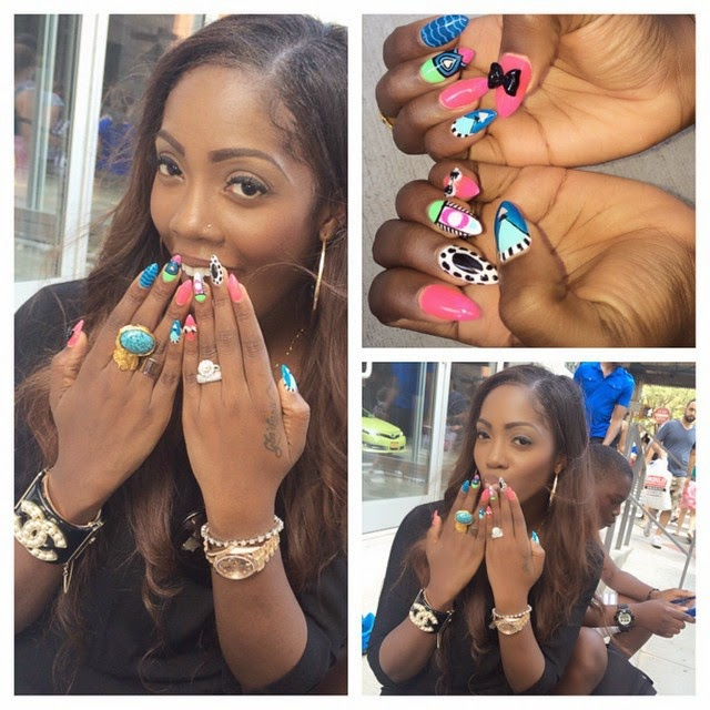 Welcome To 10 Rubies: Tiwa Savage Ditches Wedding Ring