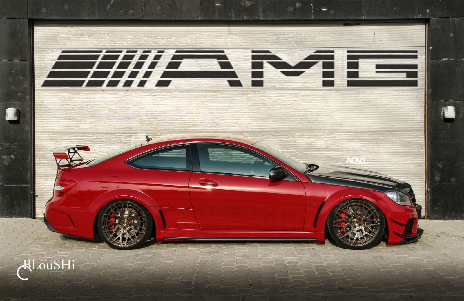 2013 mercedes benz c63 amg black series adv10 0 m v2 wheels benztuning. Black Bedroom Furniture Sets. Home Design Ideas