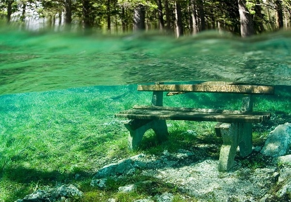 lake emerald tropical sea newlyplace.com