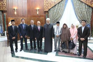 Kuatkan Hubungan Gontor- Al Azhar, KH Hasan Abdullah Sahal kunjungi Grand Syeikh