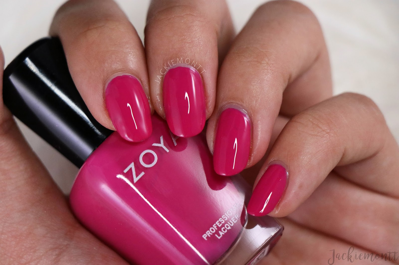 Zoya sunshine collection summer 2018 jackiemontt ellie ellie is a deep raspberry crelly and a really gorgeous color for summer this is another shade that i dont wear myself but will pass on to my mom reheart Images