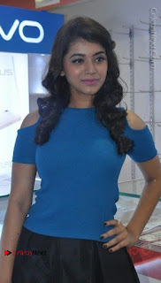 Telugu Actress Yamini Bhaskar Latest Pos in Blue Top and Black Skirt  0027.jpg