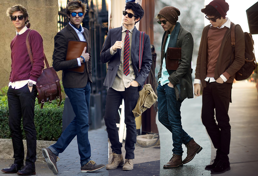 Who said men can't be stylish?!
