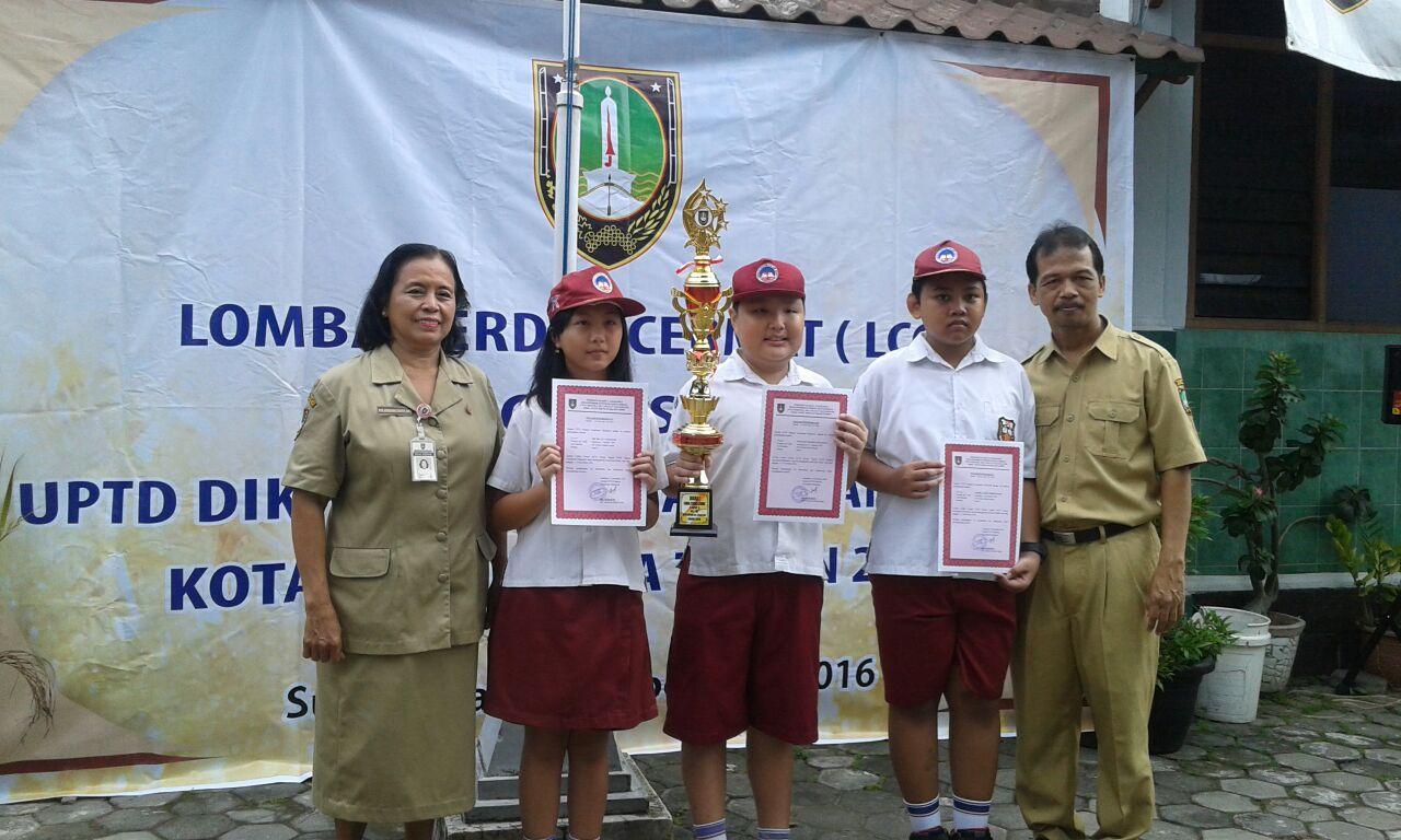 SD Kristen Kalam Kudus Surakarta Juara 1 LCC Tingkat Kecamatan