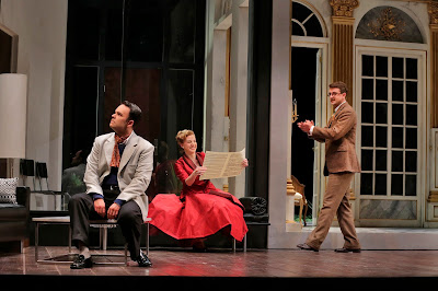 Joshua Hopkins, Amanda Majesk and Ben Bliss in 'Capriccio' (c) Ken Howard for Santa Fe Opera, 2016