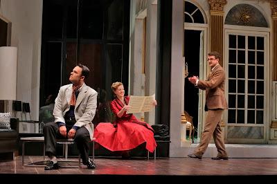 Joshua Hopkins, Amanda Majesk and Ben Bliss in 'Capriccio' (c) Ken Howard for Santa Fe Opera, 2016