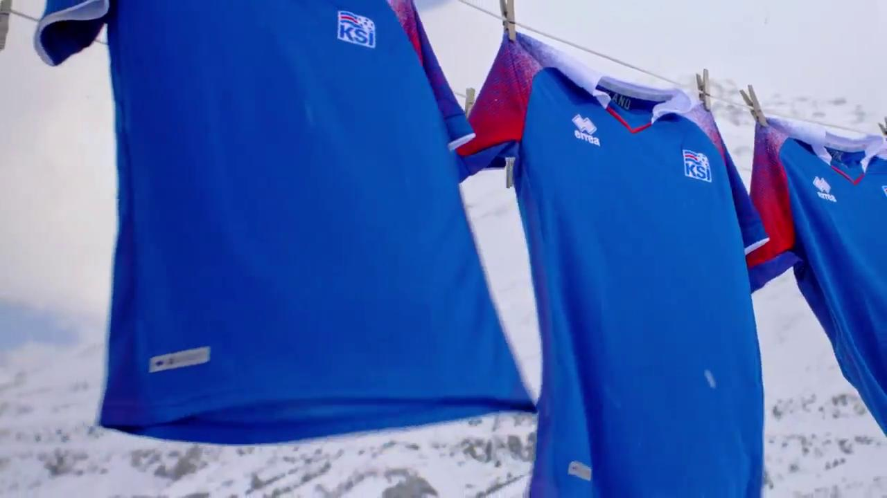 premium selection f406d cfe4a Iceland 2018 World Cup Home Kit Revealed | Futbolgrid