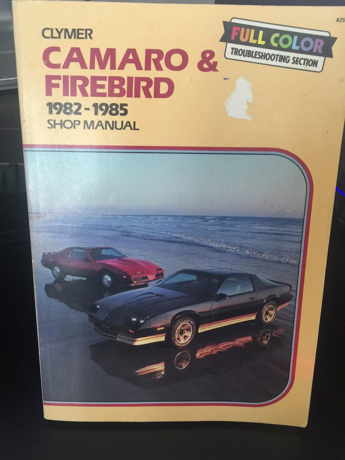 Haynes Pontiac Firebird Automotive Repair Manual 1982-1992