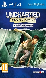Uncharted Drakes Fortune Resmastered PS4 pkg