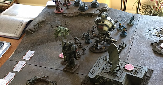 Dark Eldar vs Squatarii War Convocation