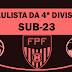Federação solta tabela desmembrada da Quarta Divisão. Paulista começa com dois jogos de manhã