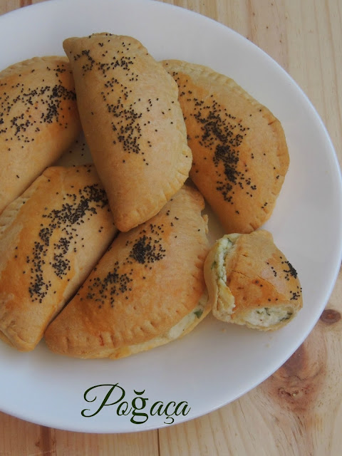 Poğaça,Turkish Eggless Breakfast Rolls