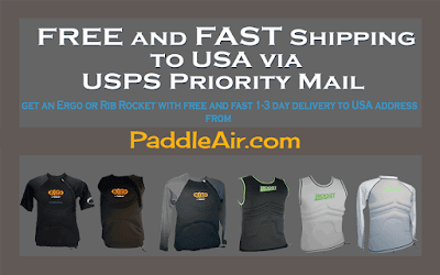 Free and Fast Shipping to USA on PaddleAir.com