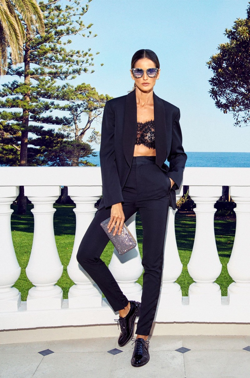Izabel Goulart goes glam for Jimmy Choo's Style Diary