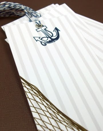 nautical gift tags