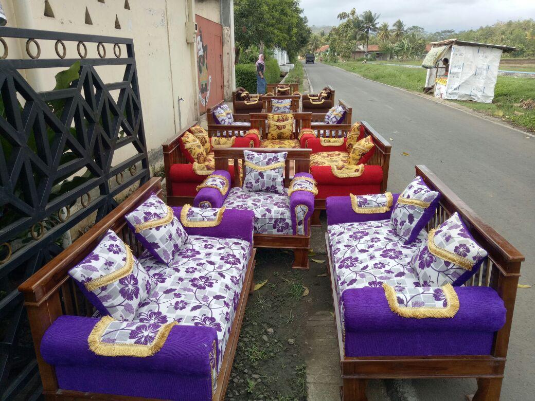 Sofa Minimalis Murah Triple Seats dan 321 Seats Purwokerto