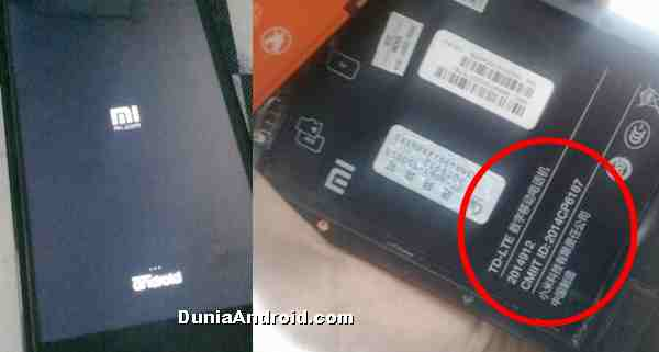 Reset ulang HP Xiaomi redmi 4G