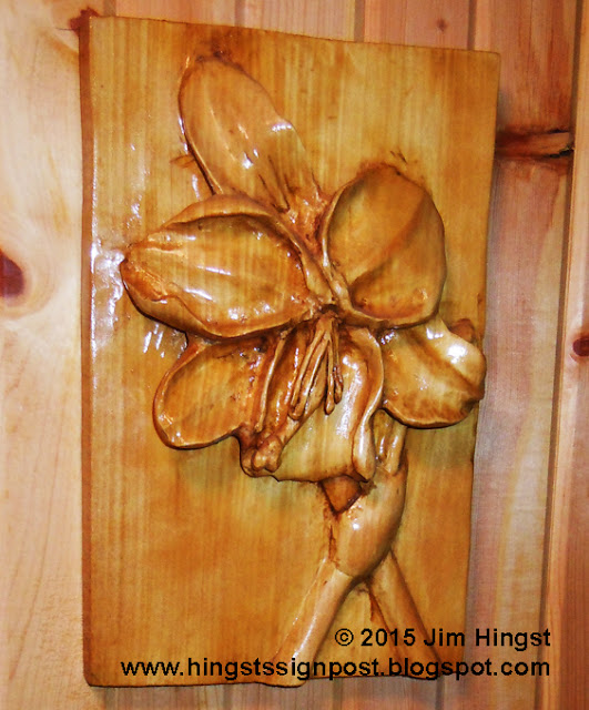 Undercutting to create drama in relief carvings hingst s