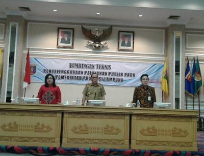Pemprov Lampung dan Kemenpan RB Gelar Bimtek Pelayanan Publik