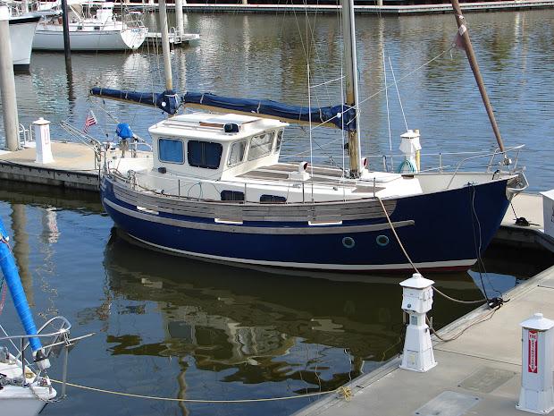 Sailboat Trawler