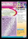 My Little Pony Once Upon a Zeppelin Series 5 Trading Card