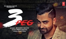 Sharry Mann new single punjabi song 3 Peg Best Punjabi single album 3 Peg, 2017 week