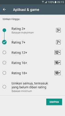 Aplikasi & Game Kontrol orang tua Play Store Android