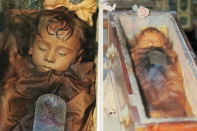 रोसालिया लोमबार्डो, 96 years ago girl was died found alive