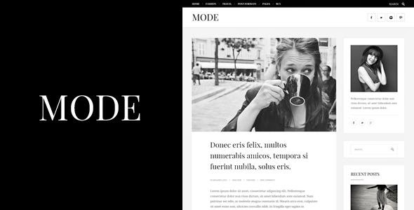 Best Responsive Fashion Blog Template