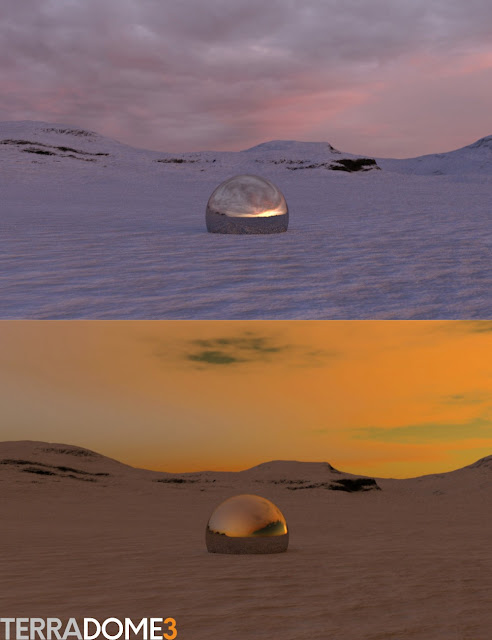 HDR Iray Sky Add On for TerraDome 3