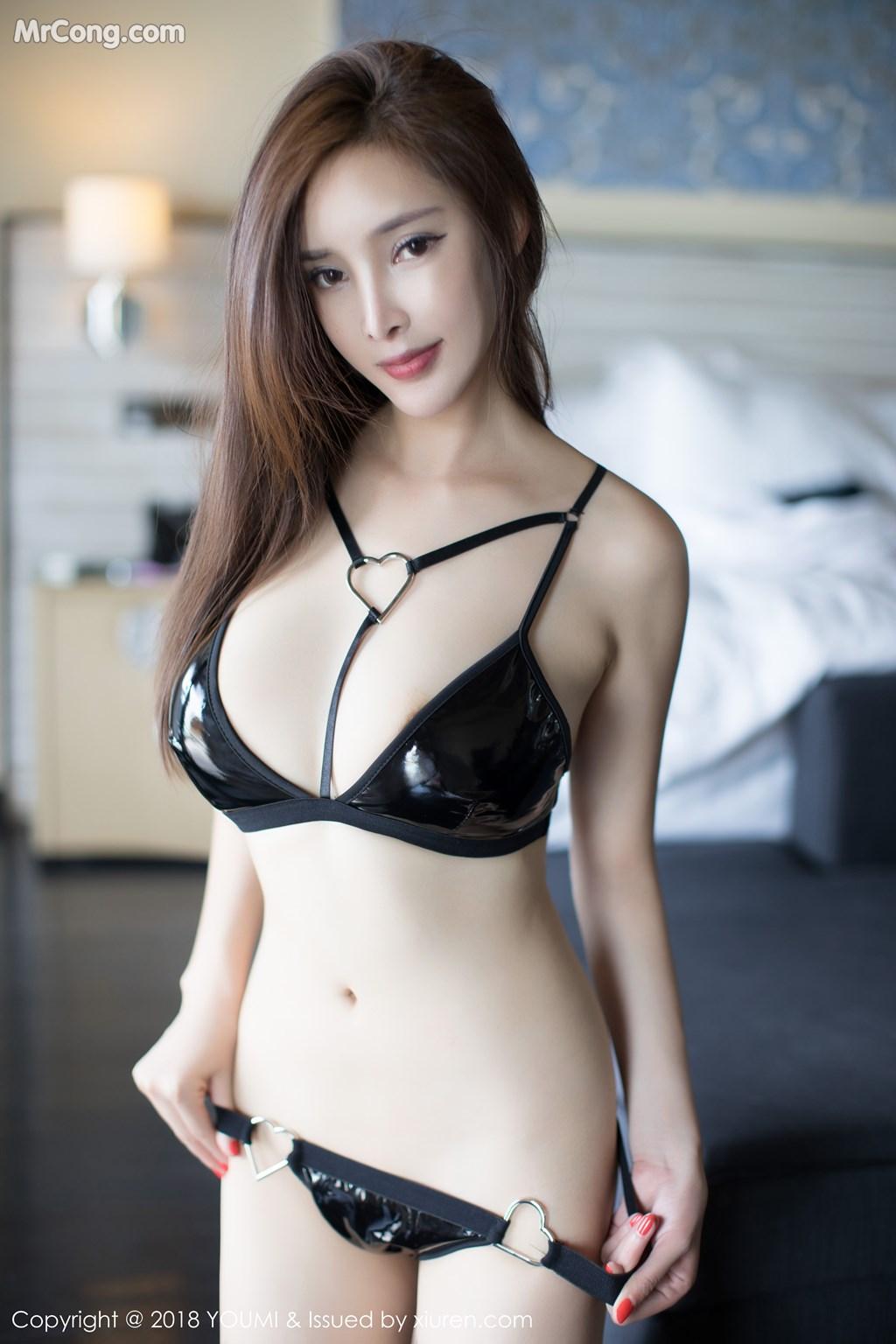 Image YouMi-Vol.237-Tu-Fei-Yuan-Ai-Cuo-Qiong-MrCong.com-002 in post YouMi Vol.237: Người mẫu 奶瓶土肥圆 (46 ảnh)