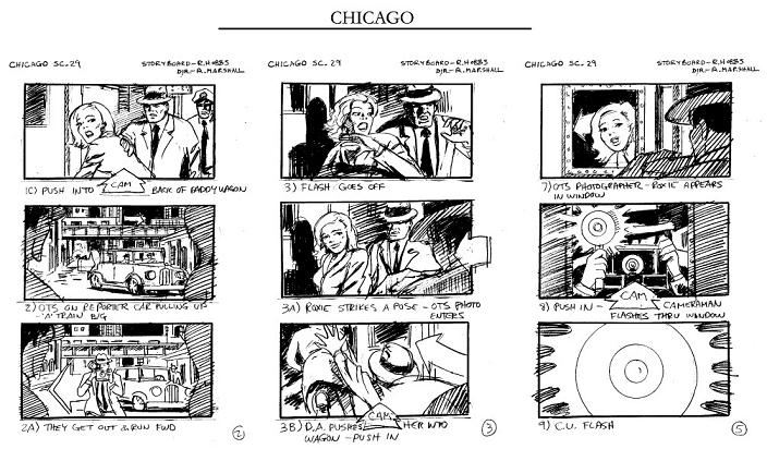 Ron Hobbs Storyboard Saturday Storyboard Sample \